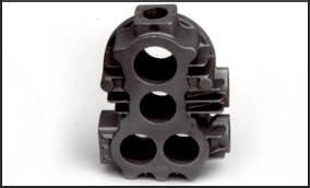 Precision Gray Iron Casting of an Air Compressor Cylinder Head